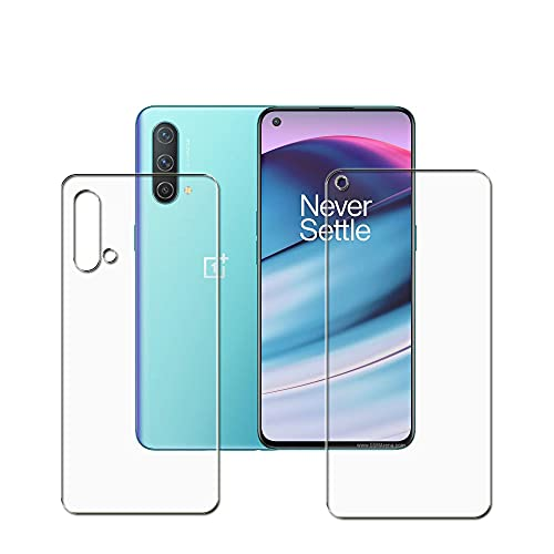 TOMBIK OnePlus Nord CE 5G Front & Back Flexible Screen Protector of...