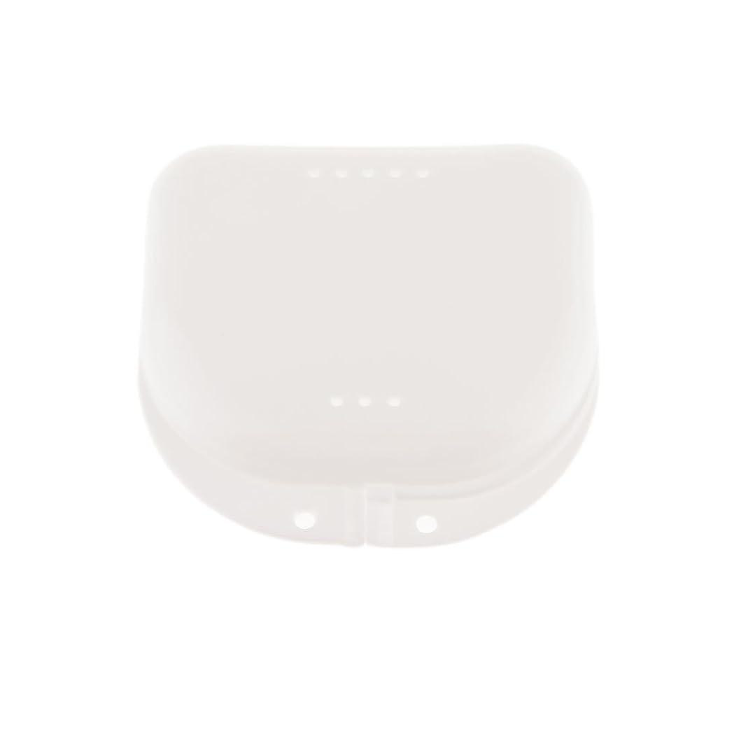 設置取る再現するHellery 口ガードケース 義歯ボックス 矯正リテーナーボックス 収納ケース 携帯便利 実用性
