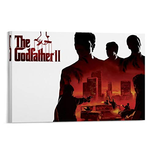 DRAGON VINES The Godfather 1 The Story of The Gang Leader Poster Wall Art Print Canvas Art Painting Decoration Painting 24x36inch(60x90cm)