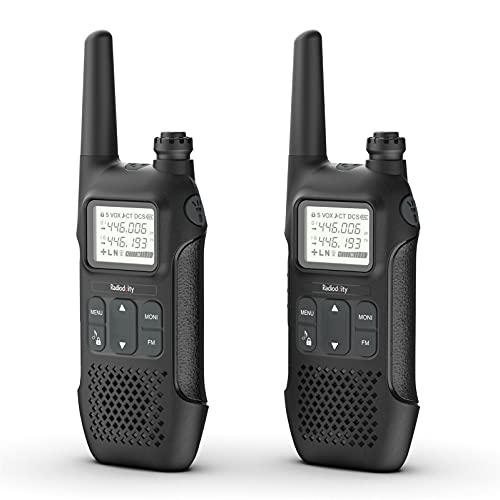 Radioddity PR-T1 PMR446 Funkgerät Set...