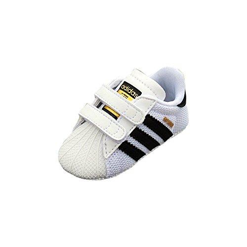 adidas Superstar Crib, Scarpe Unisex Bimbo, Bianco, 16 Eu