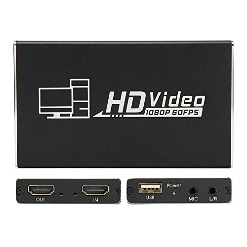 Gedourain Tarjeta, 1 Entrada de Canal 1 Salida de Bucle Salida estéreo de 3,5 mm Tarjeta de Alta definición para Video para Formato de Video MJPEG