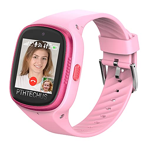 PTHTECHUS 4G Watch Phone for Children -...