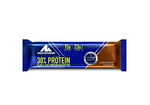 Multipower 30 prozent Protein Bar, Chocolate, 1 x 24 Stück
