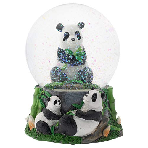 Image of Colorful Musical Panda Water Globe