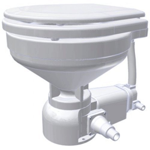 Raritan Sea Era Marine Size Electric Toilet - Integral Pump - Straight & 90° Discharge - 12V / 160MI012 /
