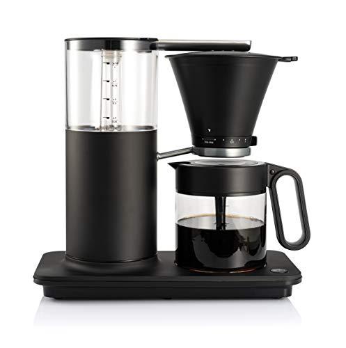 Wilfa CLASSIC PLUS Filterkaffeemaschine - Kaffeemaschine aus Stahl, 1 Liter Füllmenge und manueller Tropfstopp-Funktion, matt schwarz