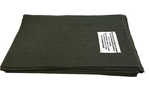 American Woolen Co., INC Couverture Militaire Kaki Style US en Laine