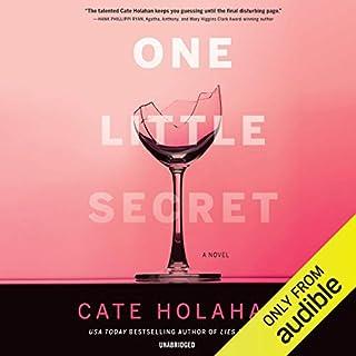 One Little Secret audiobook cover art