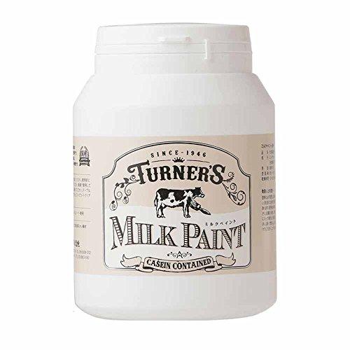 ターナー色彩 アクリル絵具 ミルクペイント スノーホワイト MK450001 450ml