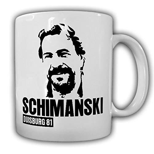 Horst Schimanski Duisburg 81 Götz George Schimmi Ruhrpott Tasse #18326