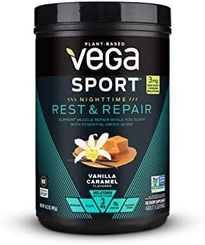 Vega Vanilla Caramel Rest Repair Powder 14 2 OZ product image