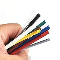 1メートル2:1~9カラー0.6ミリメートル0.8ミリメートル1ミリメートル1.5ミリメートル2ミリメートル2.5ミリメートル3ミリメートル3.5ミリメートル4ミリメートル4.5ミリメートル5ミリメートル熱収縮チューブ熱収縮チューブワイヤドロップシッピング (Color : 5mm, Inside Diameter : Green)