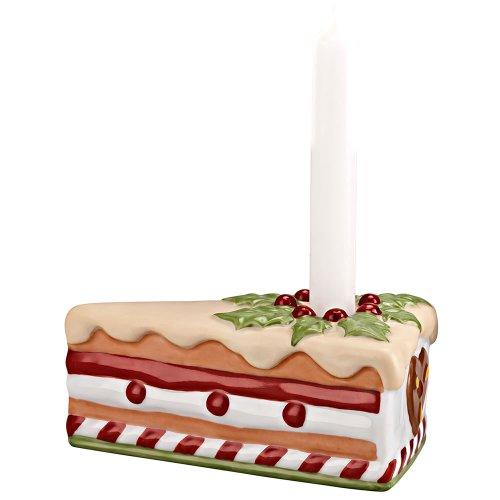 Hutschenreuther 02463-725528-25700 Candyland Leuchter Tortenstück mit Kerze Ilex