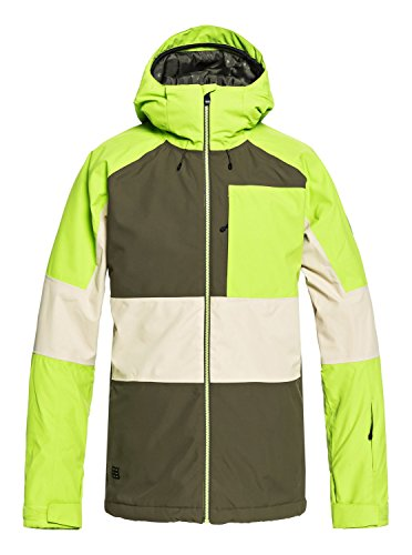 Quiksilver Herren Skijacke Sycamore Snow Jacket grün (400) L
