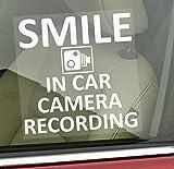 <span class='highlight'>Platinum</span> <span class='highlight'>Place</span> 1 x Smile In Car Camera Recording Window Sticker-87mm x 87mm-CCTV Sign-Van,Lorry,Truck,Taxi,Bus,Mini Cab,Minicab-Go Pro,Dashcam