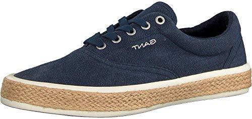GANT Footwear Herren Fresno Sneaker, Blau (Marine G69), 43 EU