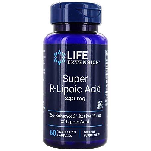 Life Extension Super R-Lipoic Acid, 240mg, 60...