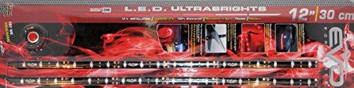 BANDE LED ULTRABRIGHT 30CM - ROUGE - 2PCS