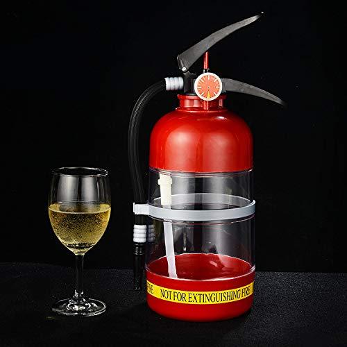 Askdasu Bierautomat Wein Handdruck-Feuerlöscher Bierautomat Getränkefass Mini Wasserspender
