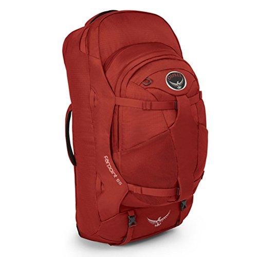 Osprey Farpoint 55 Sac à dos, Jasper Red (Rouge) - 10000293