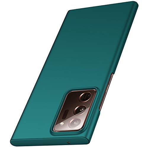 anccer Samsung Galaxy Note 20 Ultra Hülle, [Serie Matte] Elastische Schockabsorption & Ultra Thin Design für Samsung Galaxy Note 20 Ultra 5G(Grün)