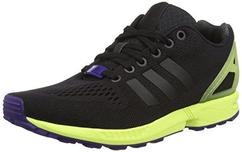 Adidas Herren, zx Flux, Mehrfarbig (Core Black/Core Black/Semi Frozen Yellow F15), 44 2/3 EU (10 UK)