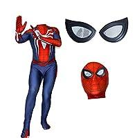 着飾る PS4ゲームスパイダーマンコスプレ衣装、大人子供のボディスーツハロウィンアニメコスプレ衣装 ロールプレイングスーツ ( Color : Women , Size : XXXL )