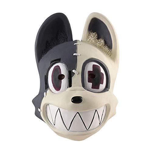 N\C Máscara de Halloween Anime Gleipnir Kagaya Shuichi Máscara Cosplay Animal Lindo Máscaras de látex Casco Mascarada Fiesta de Halloween Accesorios de Disfraces