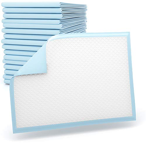 30 x Aidteq Professional 90cm x 60cm Disposable Incontinence Bed Pads | Absorbent Waterproof Protective Mats For Mattress, Sofa & Chair For Babies, Children, Adults, & Elderly