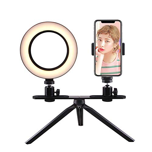 Fotografie LED selfie Baldadige 160MM Dimbare Camera Phone Lamp tabel statieven Fotografie & grafische vormgeving (Color : 2)