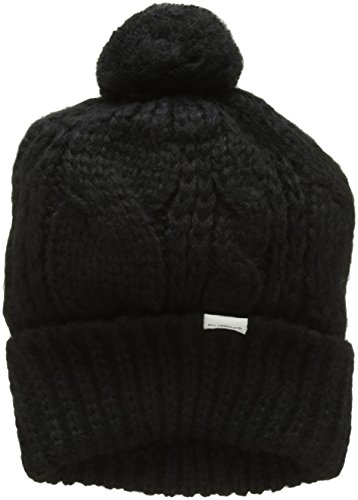 Levi's Damen Lofty Cable Beanie Strickmütze, Schwarz (Noir Regular Black 59), One...