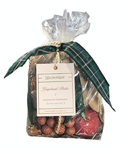 Aromatique, Gingerbread Brûlée Home Decorative Fragrance/Potpourri, 8 Ounce Bag