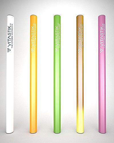 Vitamin-Vaporizer-Sticks – Original-Geschmacksrichtungen, 5er-Set
