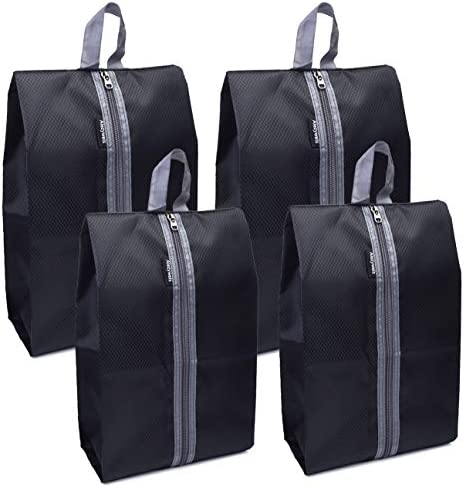Alezywels Shoe Storage Organizer Bags Set Waterproof Nylon Fabric with Sturdy Zipper for Traveling product image
