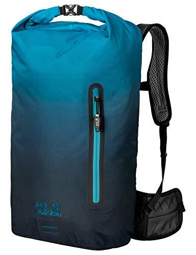 Jack Wolfskin Halo 26 Pack Fahrrad Wander Rucksack, Aurora Blue, ONE Size