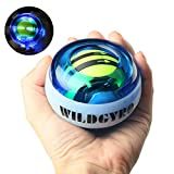 DOTSOG Wrist Trainer Power Ball Wrist&Forearm Strengthener Essential Push-Start Spinner Gyro Ball with LED Lights for Wrist excreise,No Need Start Pull String (with Digital LCD Counter)