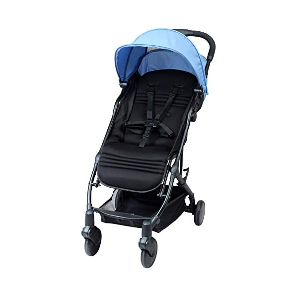 "BAMBISOL Yuko Compact Baby Pushchair BAMBISOL Compact lightweight baby stroller Stroller can be used from birth to 36 months and/or from 3 to 15 kg Ultra compact folding ""with one hand"" 2"