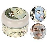 Facial Bubble Clay Mask, Deep Clean Feuchtigkeitsspendende Porenreinigungsölkontroll Hautpflege Creme Maske 100g