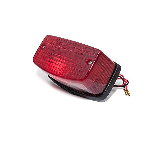 feu arrière avec Ampoule Rouge pour Honda MTX