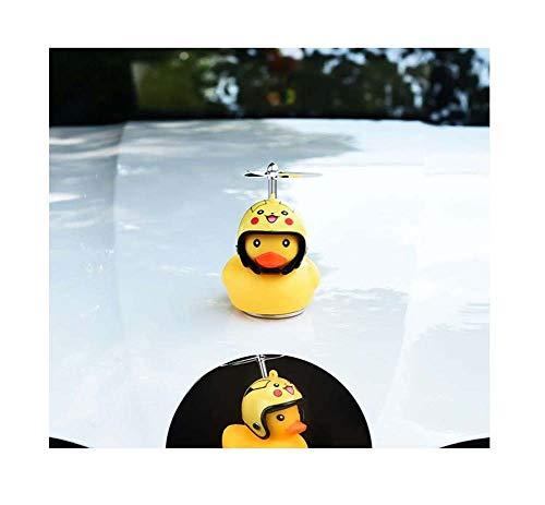 Autodak Badge Stickers, kan worden geïnstalleerd in de auto Leuk Weinig Gele Eend, Universal,C10
