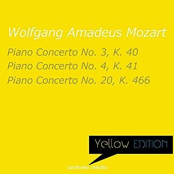 Yellow Edition - Mozart: Piano Concertos Nos. 3, 4 & 20