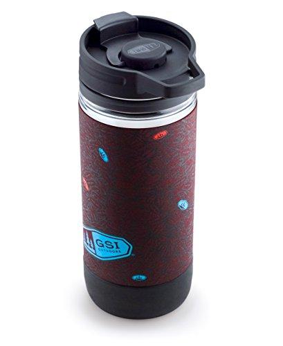 GSI Outdoors Becher-Kaffeepresse Javapress, Dark Roast, 450 ml