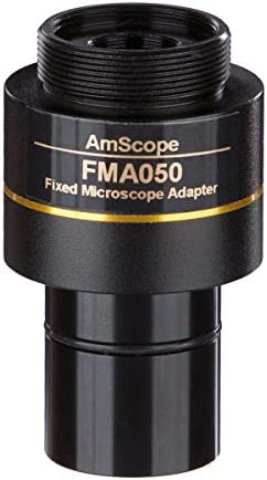 AmScope RU050 0 5X C Mount Reduction Lens for Microscope Cameras product image