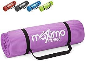 Maximo Exercise Mat NBR Fitness Mat - Multi Purpose - 183 x 60 x 1.2 centimetres - Pilates, Sit-Ups, Planks, Stretching,...