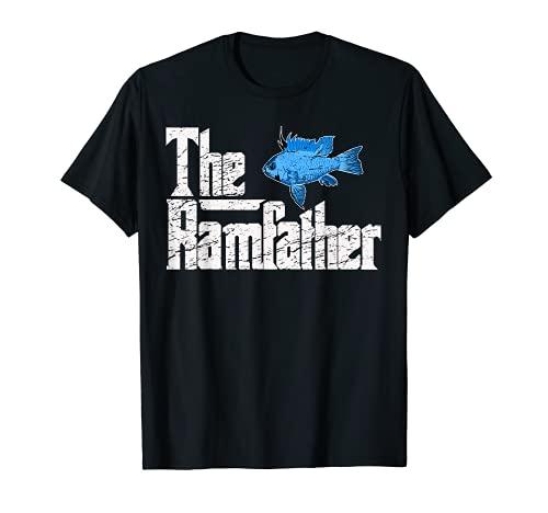 Schmetterlingsbuntbarsch Ramirezi Ramfather Zierfisch Fisch T-Shirt