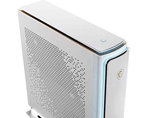 MSI Prestige P100 - Ordenador de sobremesa (Intel Core i9-9900KF 8 núcleos, NVIDIA GeForce RTX 2080 Ti 11 GB, RAM 64 GB, HDD de 4 TB y SSD de 1 TB, Windows 10 Pro), Color Blanco