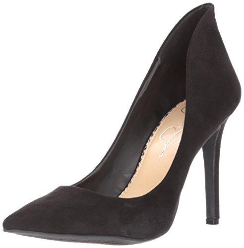 Jessica Simpson Cambredge - Zapatos de tacón para mujer, Negro (negro Micro), 38.5 EU