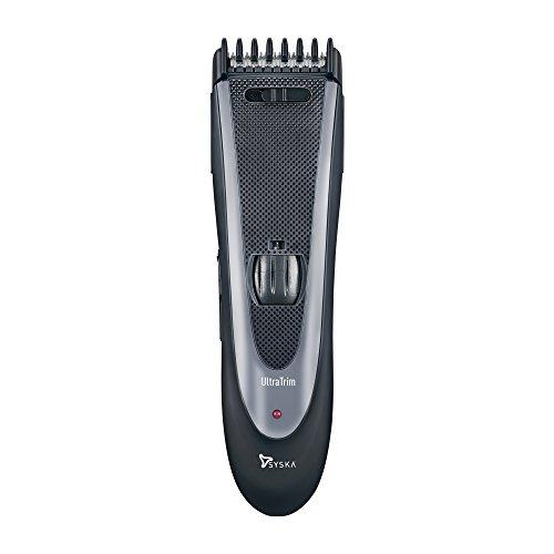 Syska HT1309 Hair and Beard Trimmer (Black/Grey)