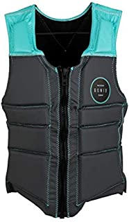 Ronix Signature Women's - V-Neck Impact Vest - Grey/Mint (2020)